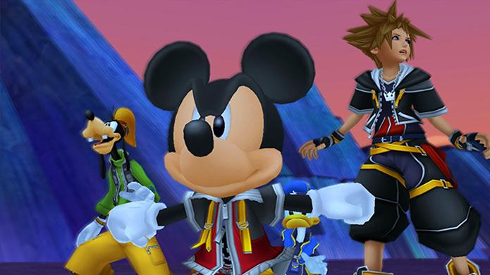 Sora, Donald, Pateta e Mickey estão de volta em alta definição com Kingdom Hearts HD 2.5 Remix (Foto: khinsider.com)
