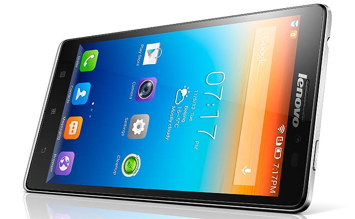 Leve e ultrafino, o foblet da empresa chinesa vem com Android Jelly Bean e tela de 5,5 polegadas (Foto: Divulgação)
