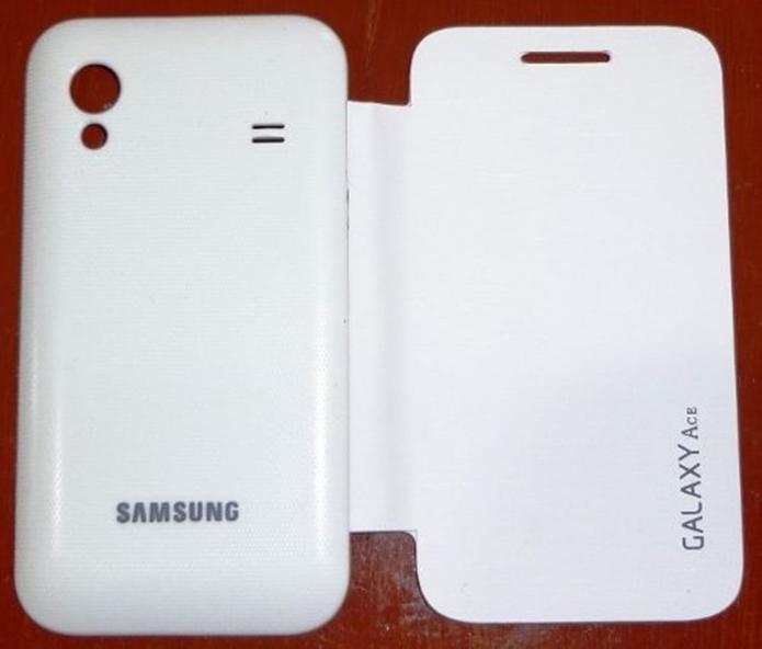 Capa Flip Cover Samsung Galaxy Ace S5830 (Foto: Divulgação/Gran Capas)