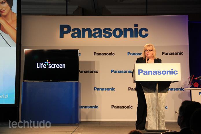 A tecnologia Life+Screen foi apresentada pela Panasonic