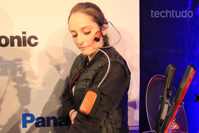 A câmera 4K para vestir é uma das apostas deste ano da Panasonic. Ideal para a prática de esportes