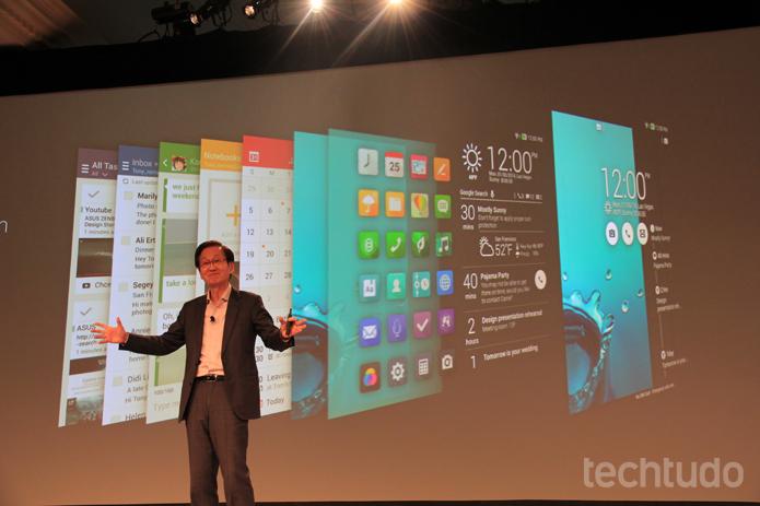 O ZenUI permite a personalização dos aparelhos