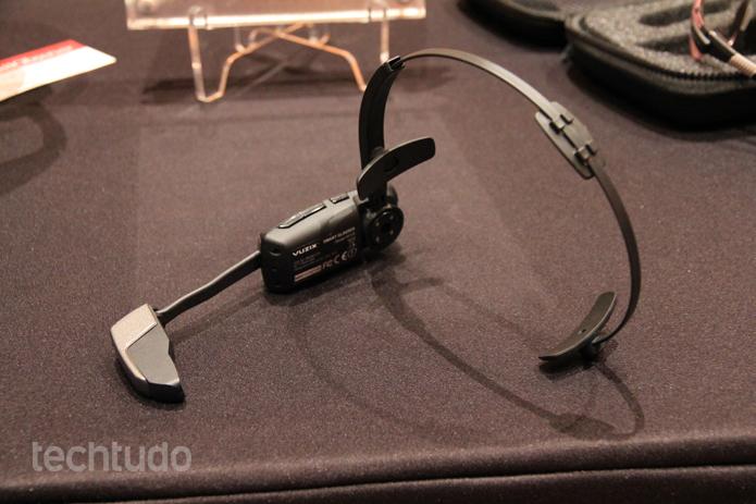 Vuzix M100 pode ser comprado por US$ 999 (Foto: Isadora Díaz/TechTudo)