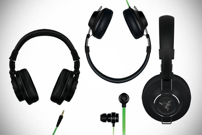 Razer anunciou nova linha de fones (Foto: Divulgação)