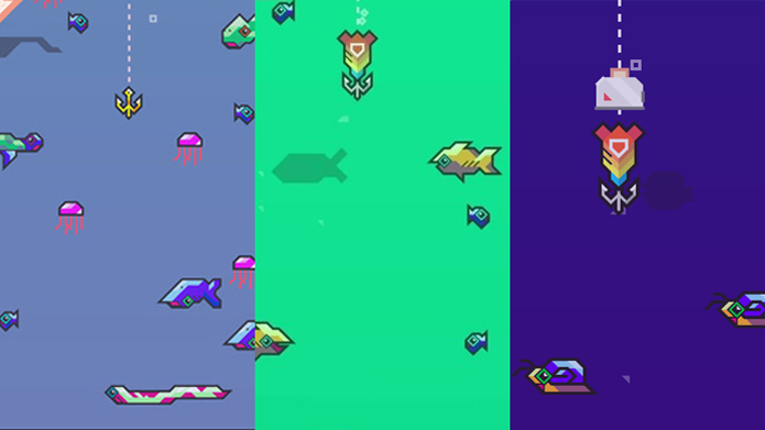 Ao lançar sua isca, desvie do máximo de peixes que puder (Foto: provengamer.com, mashable.com e pastemagazine.com)