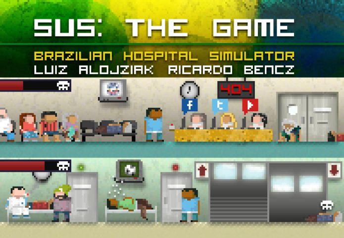 SUS: The Game faz critica social com gráficos retrôs em 2D (Foto: Divulgação)