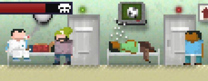 Seu personagem vê pessoas doentes nos corredores do SUS e o pouco caso dos médicos (Foto: Divulgação)