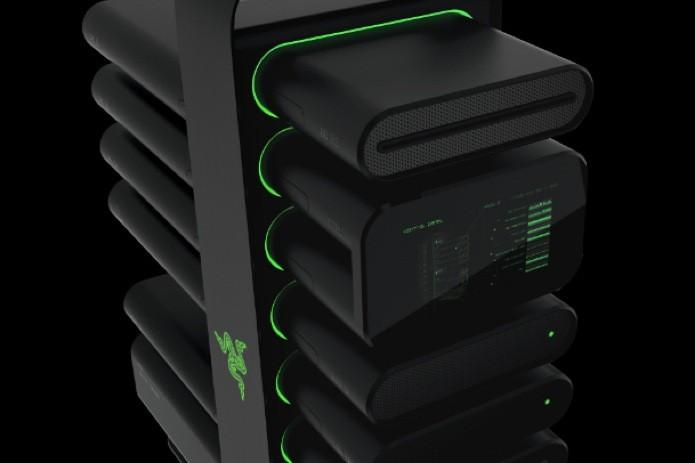 O PC modular da Razer é voltado para gamers para facilitar montagem e upgrade de hardware (Foto: Divulgação/Razer)