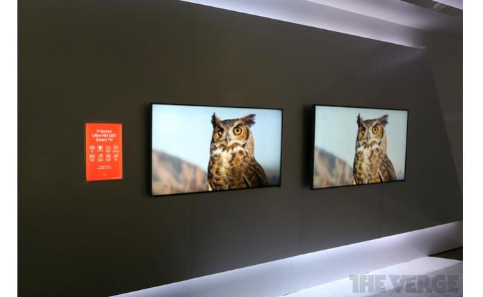 TVs 4K da Vizio por menos de US$ 1 mil são apresentadas na CES 2014 (Foto: Reprodução/The Verge)