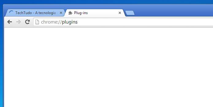 Acessando a área de plug-ins do Chrome (Foto: Reprodução/Edivaldo Brito)