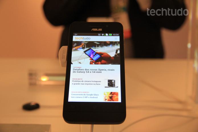 O Zenfone 4 é o modelo mais básico da linha, com câmera de 5 MP
