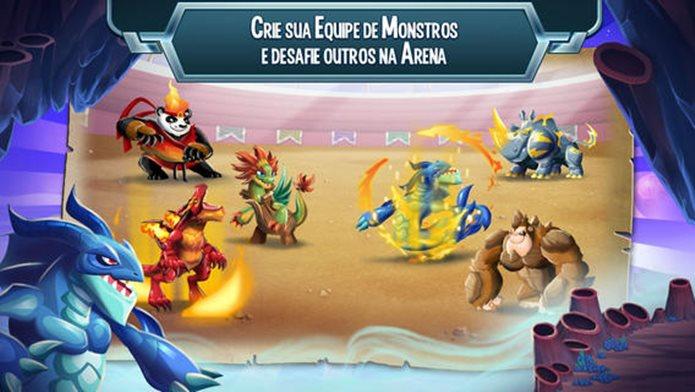 Pokémon encontra o gênero fazendinha em Monster Legends (Foto: Divulgação)