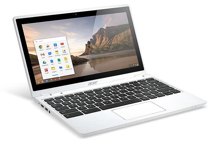 Chromebook branco da Acer enfim foi lançado (Foto: Divulgação/Acer)