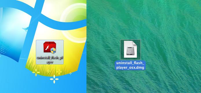 Executando o desinstalador no Windows e Linux (Foto: Reprodução/Edivaldo Brito)