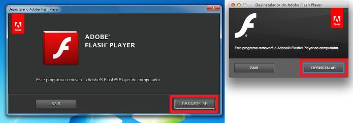 Iniciando a desinstalação do Flash no Windows e no Mac (Foto: Reprodução/Edivaldo Brito)