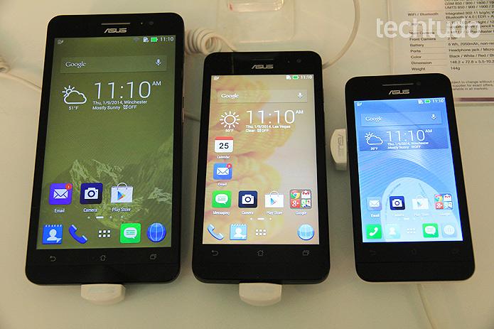 A linha Zenfone da Asus aposta na rapidez dos processadores Intel para se destacar no mercado de smartphones (Foto: Monique Mansur/TechTudo)