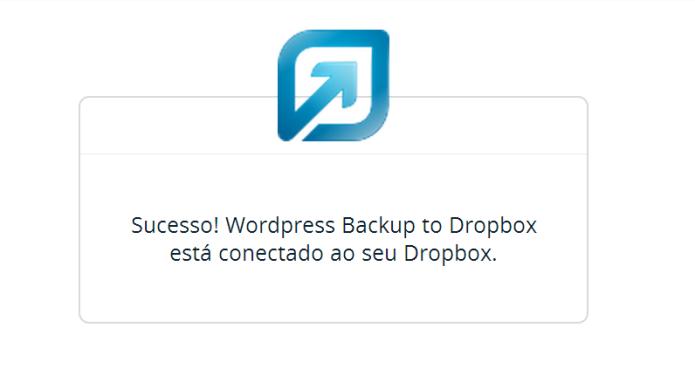 O plugin e Dropbox estão vinculados (Foto: Reprodução/Lívia Dâmaso)