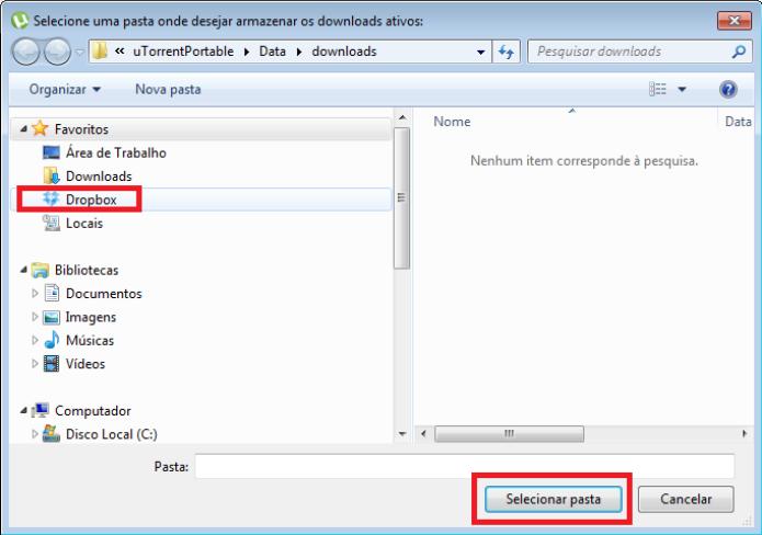 Configurações do uTorrent (Foto: Reprodução/Lívia Dâmaso)