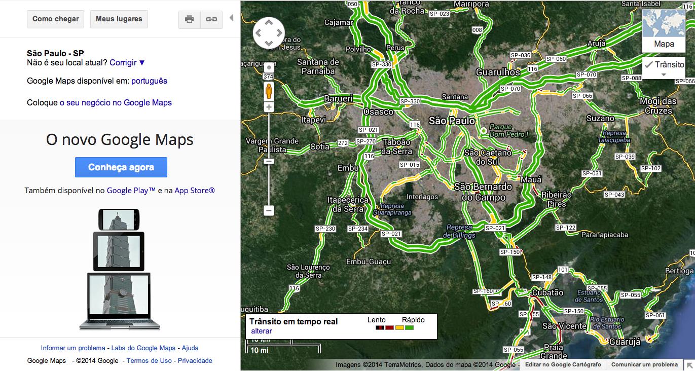 Google Maps Trânsito
