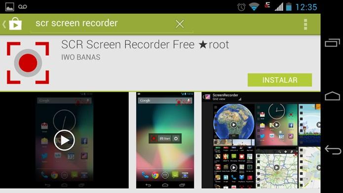 O SCR Screen Recorder é gratuito e você pode baixá-lo pelo TechTudo (Foto: Reprodução / Dario Coutinho)