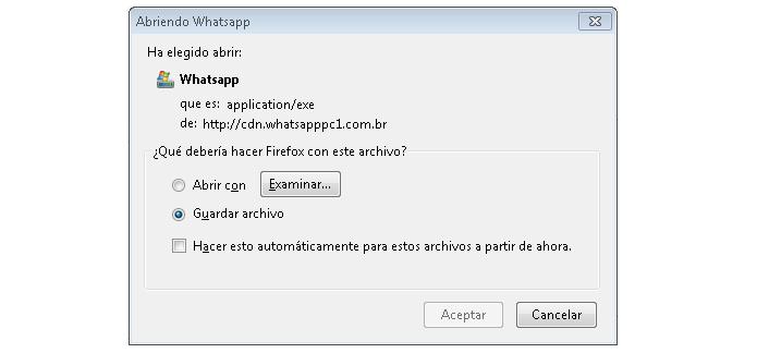 Arquivo é malicioso (Foto: Divulgação/ESET)