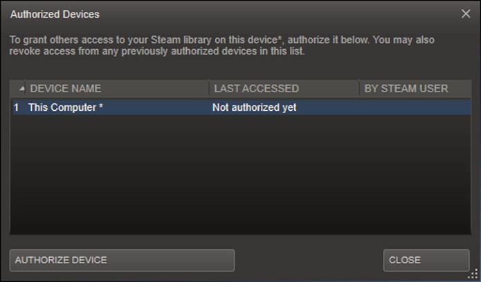 Você deve autorizar o computador que está utilizando no Steam (Foto: Reprodução/Felipe Vinha)