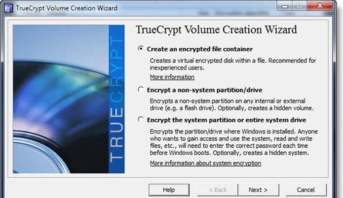 TrueCrypt criptografa arquivos da sua Dropbox (Foto: Reprodução/Vinícius Sacramento)