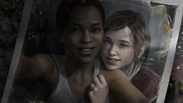 Ellie e Riley no DLC (Foto: Divulgação)