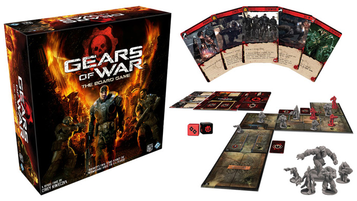 Gears of War: The Board Game (Foto: Divulgação)