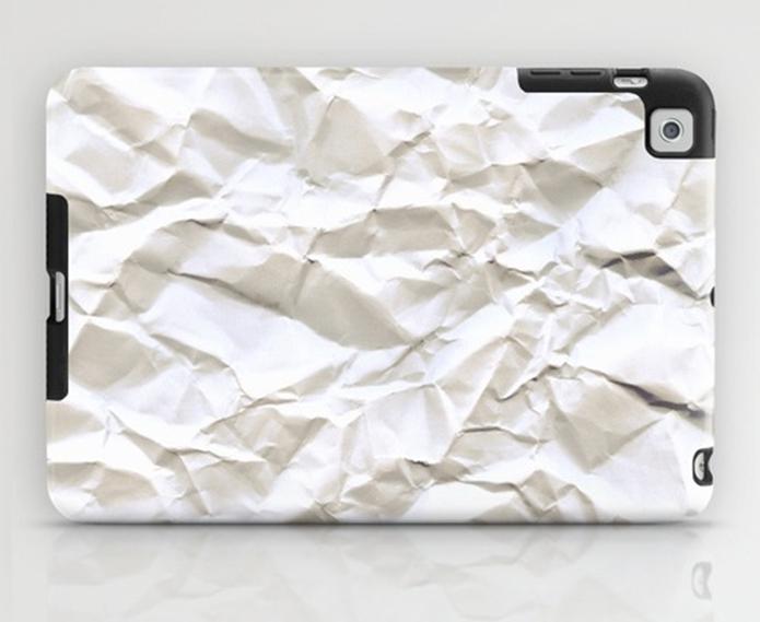 Capa White Trash, para iPad Mini (Foto: Divulgação/Society6)