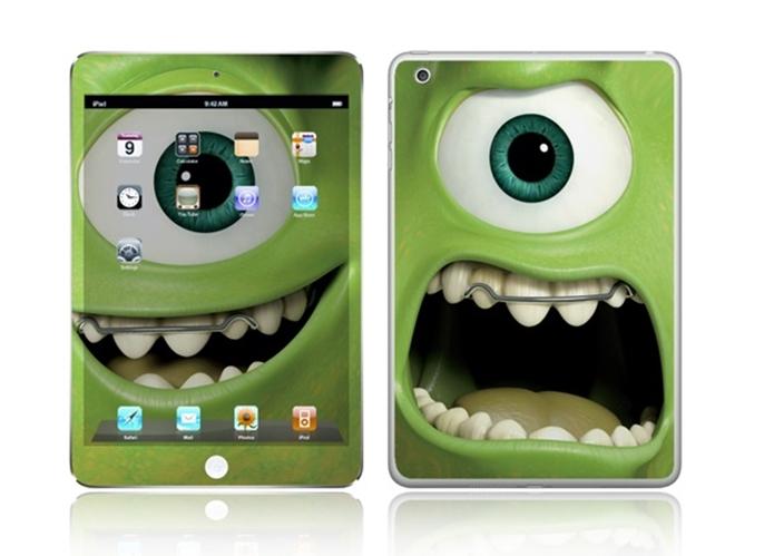 Skin para iPad Mini do Monstros SA (Foto: Divulgação/IStick)
