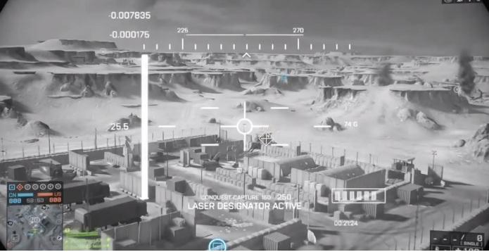 Use seu SUAV para reconhecimento e para marcar veículos inimigo com o laser (Foto: Reprodução / Larry Hryb)