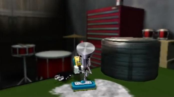 O trabalho dignifica Chibi-Robo mas também gasta sua bateria (Foto: whatsyourtagblog.com)
