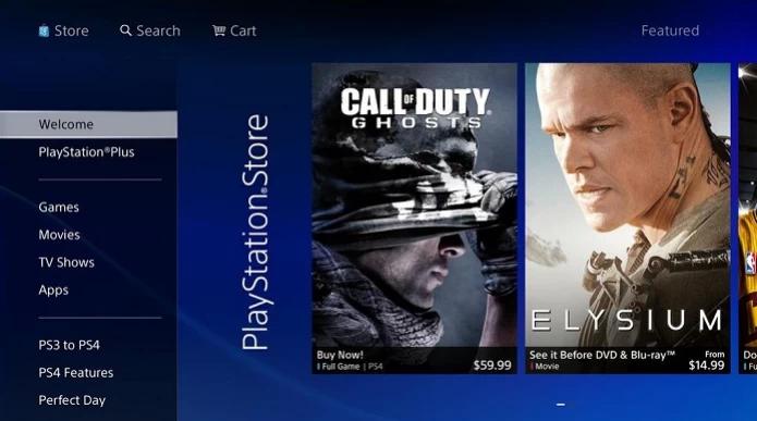 Games para PS4 têm DLCs na PS Store (Foto: Thiago Barros/TechTudo)