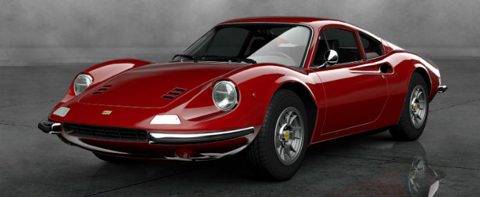 Ferrari Dino 246 GT (Foto: Divulgação)