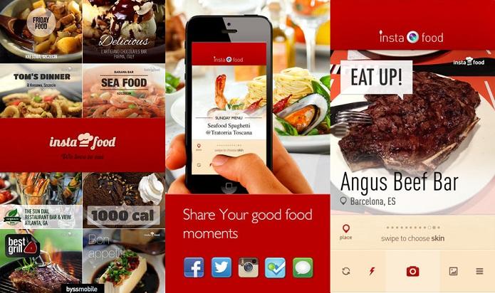 Faça fotos de pratos e ainda ganhe prêmios com o Instafood (Foto: Divulgação)