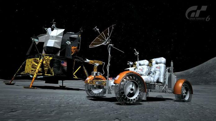 Lunar Roving Vehicle LEV-001 (Foto: Divulgação)
