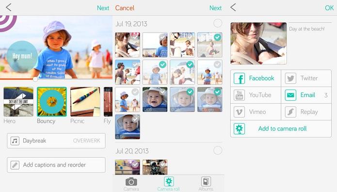 Replay permite criar vídeos com as imagens de seu gadget (Foto: Divulgação)