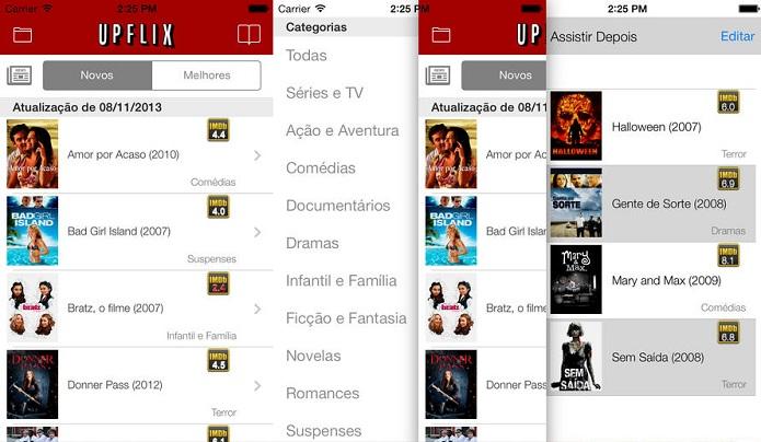 Fique por dentro das novidades do Netflix com o Upflix (Foto: Divulgação)