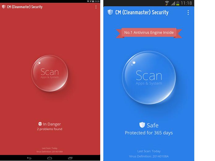 CM (Cleanmaster) Security é um aplicativo móvel de segurança (Divulgação)