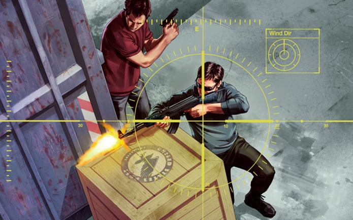 GTA V foi notícia essa semana: a Rockstar anunciou que poderá banir cheaters. (Foto: Divulgação)