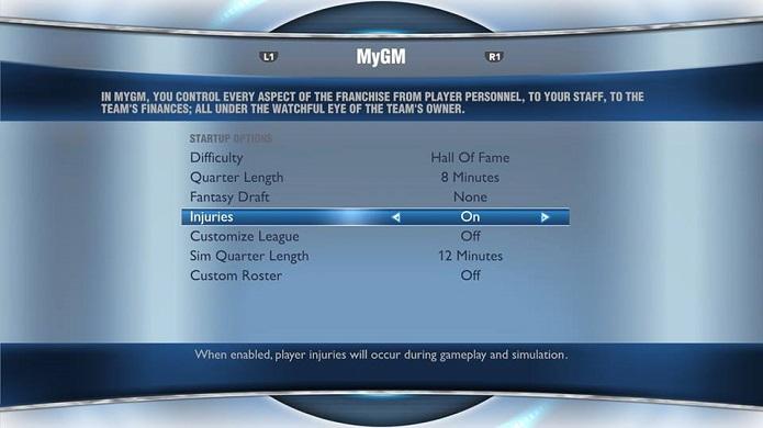 MyGM é modo divertido do novo NBA (Foto: Thiago Barros/TechTudo)