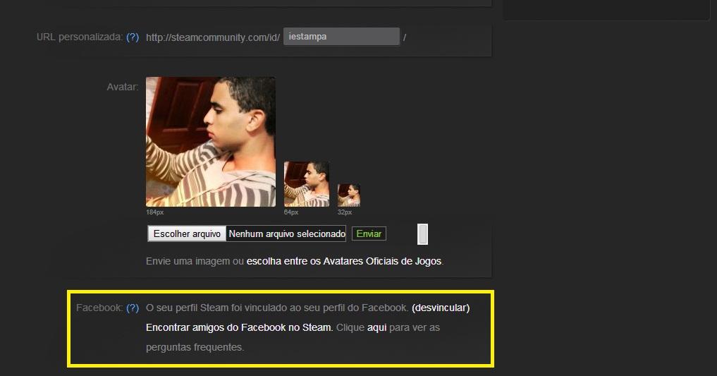 Volte ao seu perfil e confirme a vinculação (Foto: Reprodução/Paulo Vasconcelos)