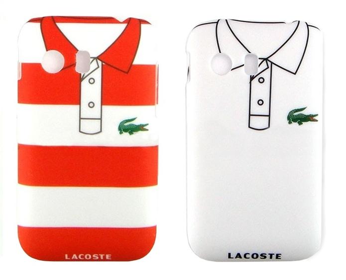 Cases que imitam camisas da marca Lacoste (Foto: Divulgação/pick one)