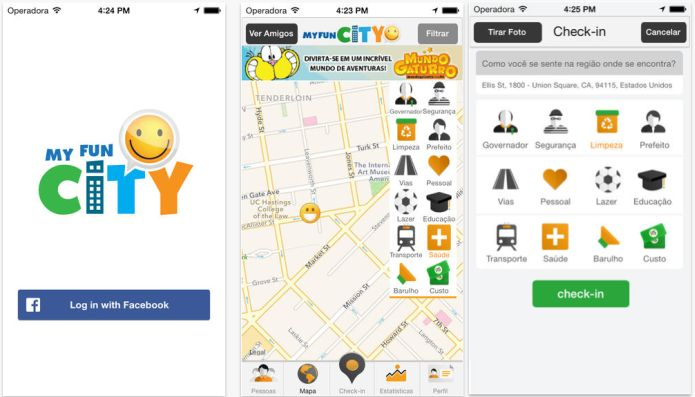 MyFunCity transforma em game a experiência de engajamento social (Foto: Divulgação)