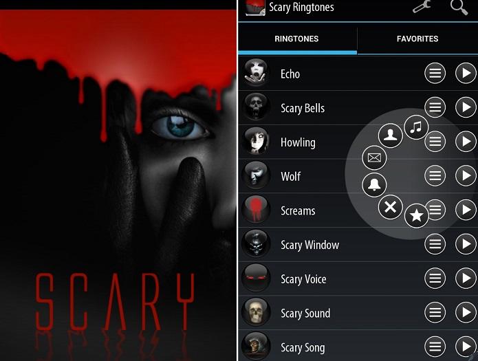 scary tones, app toques de celulares