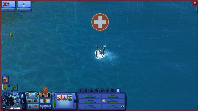 Matar o seu sim afogado trará um fantasma azul (Foto: Divulgação)