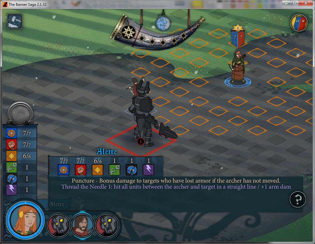 Coloque seu arqueiro em uma posição boa para atacar as defesas dos Dredges (Foto: Reprodução/Paulo Vasconcellos)