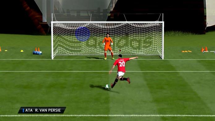 O ponto cego é garantia de gol (Foto: Reprodução/Murilo Molina)