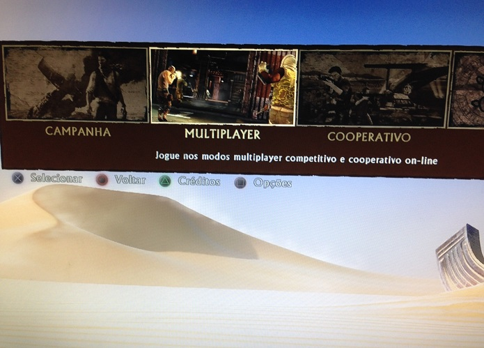 Multiplayer de Uncharted 3 é viciante (Foto: Thiago Barros/TechTudo)